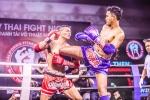 Những cú đòn mãn nhãn trong sự kiện 'Muay Thai Fight Night' ở TP.HCM
