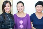 Khánh Ly, Lệ Thu, Hồng Nhung thân thiết cùng tập nhạc