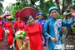 Hàng chục cặp đôi tổ chức cưới tập thể ngày 20/10