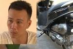 'Con nghiện' chặn xe, dùng dao nhọn khống chế cướp xe máy của phụ nữ ở Thái Bình