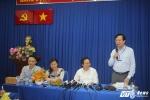 Bộ trưởng GD-ĐT Phùng Xuân Nhạ: Cần tạo tâm lý thoải mái cho thí sinh
