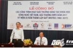 45 công trình khoa học đạt giải Sáng tạo Khoa học Công nghệ Việt Nam
