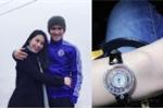 Công Vinh tặng Thủy Tiên đồng hồ kim cương mừng 9 năm yêu
