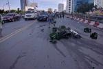 Truy tìm tài xế ô tô gây tai nạn liên hoàn rồi bỏ trốn