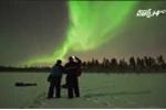 Video: Ngắm hiện tượng Bắc cực quang đẹp mê hồn trên bầu trời Phần Lan