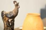 Ảnh: Hình tượng gà độc đáo tại triển lãm 'Dậu Dome'