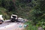 Xe khách chở người Việt nổ tung, 8 người chết: Tạm giữ lái xe người Lào