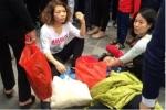 Sự thật bà cụ bị hành hung ngất xỉu do dẫm vào chân cô gái trẻ ở chùa Hương