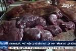 Trinh sát mật phục 1 tháng, lật tẩy cơ sở 'phù phép' thịt lợn thối thành thịt lợn rừng