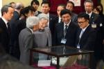 Nhà vua và Hoàng hậu Nhật Bản thăm Bảo tàng sinh học, Đại học Quốc gia Hà Nội