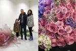 Triệu Vy hạnh phúc khi được chồng tặng 999 bông hồng nhân dịp 40 tuổi