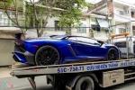 Siêu xe Lamborghini Aventador LP750 SV 35 tỷ của Minh Nhựa ra biển trắng
