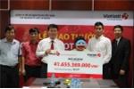Trao giải Vietlott hơn 41 tỷ cho nữ khách hàng Lâm Đồng