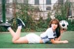 Nữ sinh Học viện An ninh khoe dáng gợi cảm tìm 'Hoa khôi sân cỏ C500'