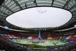 Khai mạc Euro 2016: Không lực Pháp bay ngang bầu trời Stade de France
