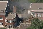 Nổ khí gas tại trường học Mỹ, cả khu nhà biến mất