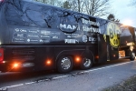 Video, ảnh: Xe bus chở CLB Dortmund bị khủng bố, hoãn trận Dortmund vs Monaco