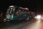 Nổ xe khách giường nằm trong đêm, 14 người thương vong