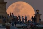 Ảnh, Video: Những hình ảnh tuyệt đẹp về Siêu trăng trên khắp thế giới