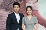 Song Hye Kyo - Song Joong Ki tình tứ trong buổi họp báo ở Hồng Kông