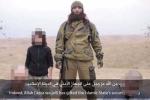 IS tung clip chiến binh nhí hành quyết 2 'điệp viên' Nga