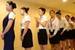 Ngắm dàn mỹ nữ xinh đẹp thi tuyển tiếp viên hàng không