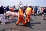 Nổ bình gas trên tàu cá: Tìm thấy thi thể nạn nhân cuối cùng