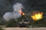300 khẩu pháo Hàn Quốc đồng loạt khai hỏa sát biên giới Triều Tiên