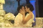 MC Mai Ngọc hôn chồng say đắm trong lễ cưới