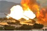 Bán đảo Triều Tiên chìm trong mùi thuốc súng tập trận