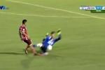 Chủ tịch Sài Gòn FC: Trọng tài dung túng cho pha bóng Bửu Ngọc triệt hạ Duy Long