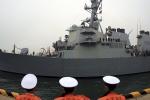 Chiến hạm Mỹ trở về cảng Yokosuka sau khi bị tàu Philippines đâm thủng
