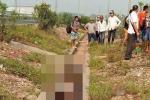 Thi thể phụ nữ nghi bị sát hại vứt xuống rãnh thoát nước ở Bắc Giang