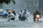 Hà Nội mưa dông, gió giật mạnh