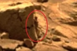 Xôn xao hình ảnh 'người phụ nữ' nấp sau tảng đá trên sao Hỏa