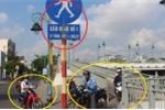 Bất chấp cái chết rình rập, dân Sài Gòn nghênh ngang đi vào đường cấm