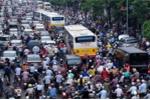 cấm xe máy, tắc đường, ùn tắc giao thông, Hà Nội
