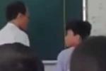 Thầy giám thị tát học sinh trong lớp gây phẫn nộ