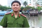Gặp chiến sĩ trẻ trắng đêm chữa cháy gần cảng Sài Gòn, sáng vẫn đi thi đúng giờ