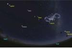 'Ngũ tinh hội tụ': Hiện tượng thiên văn cực hiếm xảy ra ngày 20/1