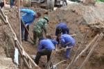 Phát hiện hố chôn hài cốt liệt sỹ tập thể trong khuôn viên bệnh viện ở Quảng Trị