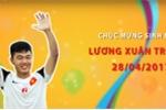 HAGL tung clip Xuân Trường 'dậy thì thành công'