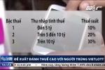 Đề xuất đánh thuế 30% với người trúng số Vietlott