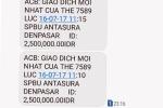 Khách hàng ở Đà Nẵng bị rút hơn 38 triệu đồng từ Indonesia