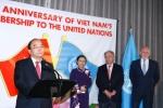 Thủ tướng Nguyễn Xuân Phúc dự lễ kỷ niệm 40 năm Việt Nam gia nhập Liên Hợp Quốc