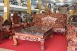 Bộ bàn ghế Rồng 10 tấn: Tây trả gần 3 tỷ đồng không bán