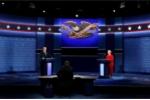 Tỷ lệ ủng hộ Hillary Clinton cao hơn Trump sau tranh luận