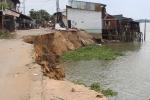 Sạt lở nhấn chìm 14 căn nhà ở An Giang: Phó Thủ tướng chỉ đạo khẩn