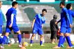 Tuyển Việt Nam cười tươi trước trận đấu quan trọng