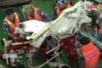 Tích cực tìm kiếm phi công và đưa mảnh vỡ máy bay Casa-212 về đất liền